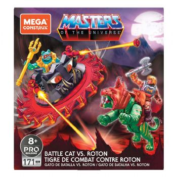Masters of the Universe Mega Construx Probuilders Construction Set Battle Cat vs. Roton - Pre-Order